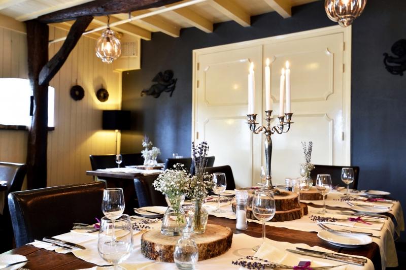 Restaurant-Herberg van Boxtel-gedekte tafel
